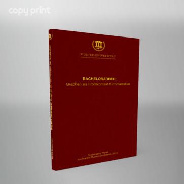 Hardcoverbindung mit Titeldruck