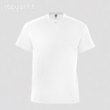 T-Shirt Men White (Sol's Imperial)